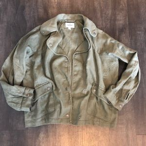 American Eagle Olive Green Jacket